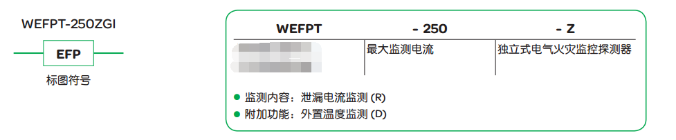 WEFP电气火灾监控系统