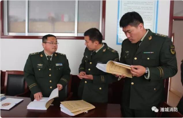 参观学习拓思路 相互学习共提高 推进电气火灾监控系统建设—潍城消防