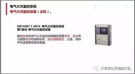 【小课堂】电气火灾监控系统