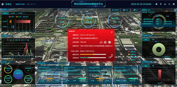 三维智慧消防可视化平台设计与实现