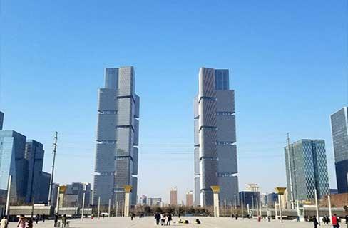 郑州绿地中心双子塔