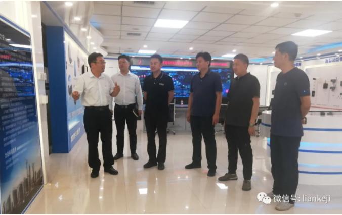 河南省建筑业协会消防分会会长韩建平一行到力安科技考察指导