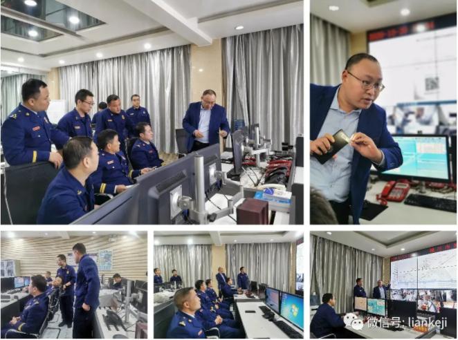 铜川支队开展智慧消防装备物联网平台验收工作